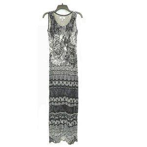 NEW Belle Badgley Mischka Maxi Dress Sz 4